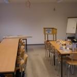 Der neue Ausbildungs- und Aufenthaltsraum.