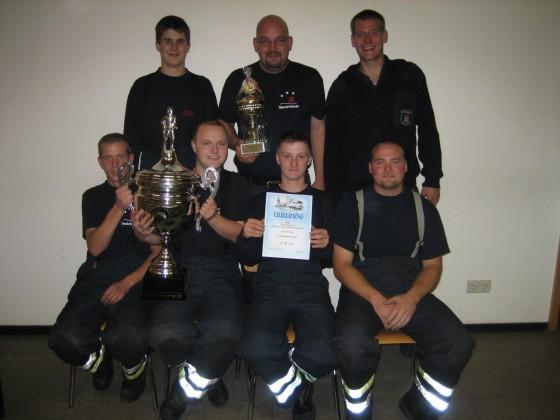 Die siegreiche Mannschaft der FF Kirchwerder-Nord