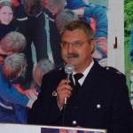 Begrüßung der Gäste durch Thomsen Stern, Wehrführer der FF-Duvenstedt