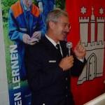 Der Leitende Branddirektor Klaus Maurer