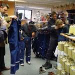 Einkleidung im Lion Shop