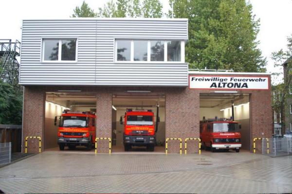 Das FGH der FF Altona in der Eifflerstr. 29
