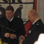 WFV Schwarz erhält von StR Ahlhaus die Auszeichnung für 25 Jahre Feuerwehrdienst