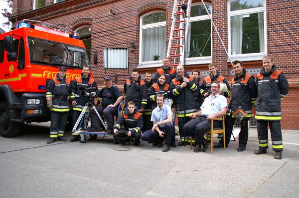 Foto: AG Medien & Kommunikation © 2007 - Gruppenfoto der Darsteller