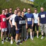 Die Mannschaft der zweitplazierten FF Osdorf