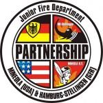 Partnerschaftswappen des Mineola Junior Fire Departments und der JF Stellingen<br>© FF Stellingen<br