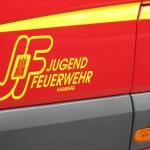 Türemblem der JF-MTW der Jugendfeuerwehr Hamburg