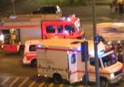 Verschwommene Aufnahme eines Unfallortes in Hamburg Lokstedt (Foto: Björn Wendt)