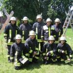 Die Mannschaft der FF Hoisbüttel