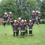 Die Mannschaft der FF Volksdorf
