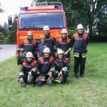 Die Mannschaft der FF Wohldorf