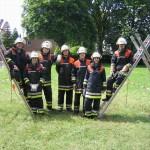 Die Mannschaft der FF Ohlstedt