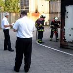 Teilaufgabe der Brandschutzübung