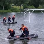 Auch die Mannschaften der Jugendfeuerwehren sind fleißig am Trainieren ©L. Rieck