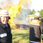 Nach über 40 Jahren in der freiwilligen Feuerwehr geht Werner Meyer in den wohlverdienten Ruhestand. ©FF Curslack