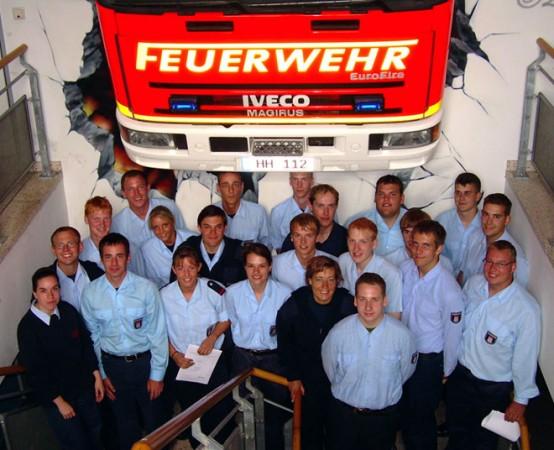 Gruppenfoto der Teilnehmer an der LFS. © Jule Oester-Barkey