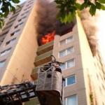 Das die Hochhausausbildung notwendig ist , zeigte ein Realeinsatz der Feuerwehr Hamburg im Mai 2003 im heutigen Übungsobjekt Dannerallee 11.