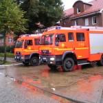 Einsatz Winsener Str.: 4 FFén mit je 2 LF, BERF Harburg, AB Hafen, B-Dienst Süd, U-Dienst. Alle Bilder FF Rönneburg..