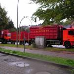 Einsatz Winsener Str.: 4 FFén mit je 2 LF, BERF Harburg, AB Hafen, B-Dienst Süd, U-Dienst. Alle Bilder FF Rönneburg.
