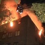 Brandbekämpfung über die DL 25