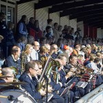 Der Musikzug der FFén aus Reitbrook und Spadenland untermalte die Veranstaltung musikalisch