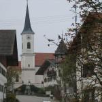 Der Ortskern von Endlhausen