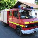 Unser Prüfungsfahrzeug, ein MB 609 D TSF-W