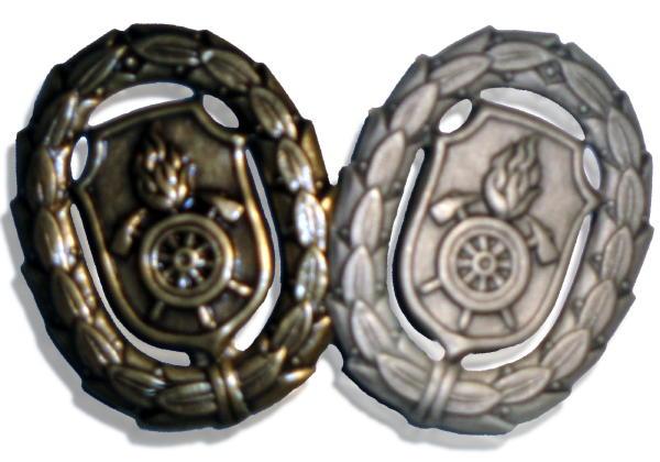 Das bronzene und das silberne bayr. Feuerwehrleistungsabzeichen