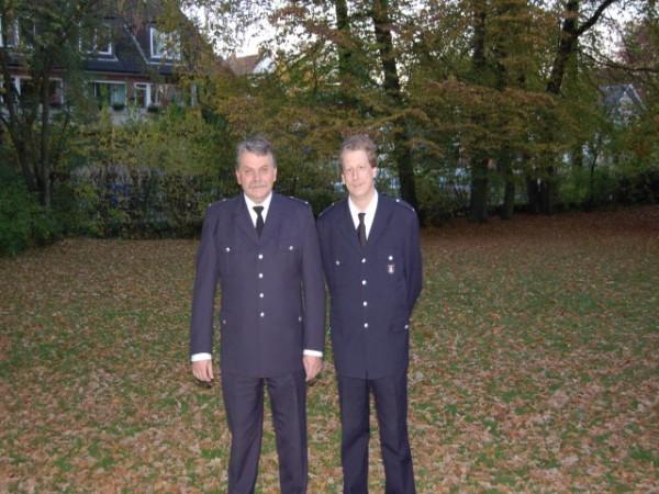 Wolfgang Kohlrusch (links) Werner Schirmer (rechts)