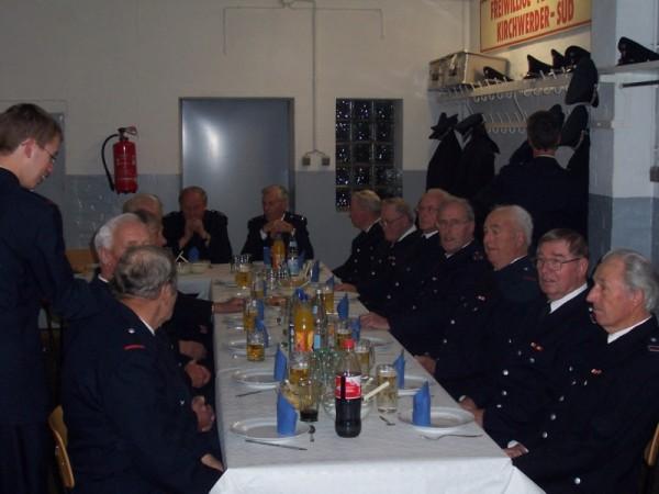 Auch die Ehrenabteilung der Freiwilligen Feuerwehr Kirchwerder-Süd war eingeladen. ©L. Rieck