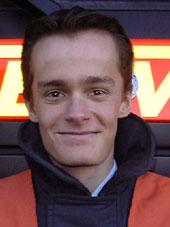 Der neu gewählte Wehrführer der FF Blankenese Tobias Marquard.