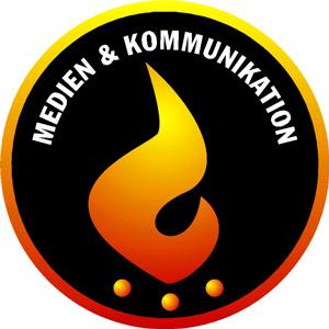 Das Logo der Arbeitsgruppe Medien & Kommunikation