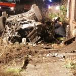 Der Fahrer des Wagens ergriff zunächst die Flucht. Eine umfassende Suche nach ihm blieb erfolglos, er stellte sich erst am nächsten Morgen. ©C. Leimig