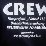 Das neue T-Shirt der Film-Crew