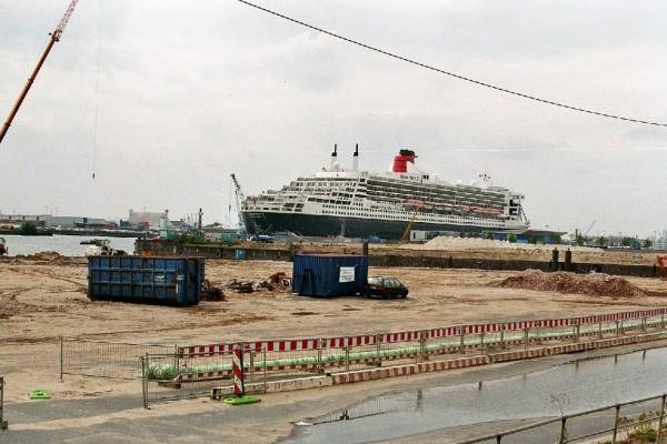 Blick Richtung Hamburg Cruise Center / Foto: Fro