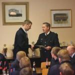Die Ernennung von Martin Meyer zum Wehrführer.