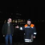 WF Jörg Plagens gratuliert im Namen der FF Billstedt-Horn