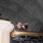 Christoph ließ es sich nicht nehmen und brachte Norman nochmals ein kleines Solo auf der Trompete