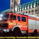 Die LF´s der FF Billstedt-Horn auf dem Rathausmarkt