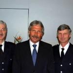 Oberbranddirektor Klaus Maurer Innensenator Udo Nagel Landesbereichsführer Hermann Jonas