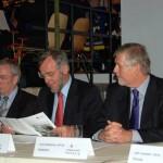 Vom Amt A waren zugegen Dr. Peer Rechenbach und Herr Schiek. Von der HFUK Herr Kettenbeil