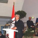 OBD Maurer bei seiner Rede