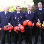 Foto: D.Frommer / Norbert Nahstedt, Fritz-Kay Bahlo, Lutz Kettenbeil und Jan Hamer (v. links n. rechts)