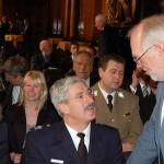 OBD Klaus Maurer im Gespräch mit Bernd Balzer vom THW