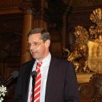 Dr. Andreas Georgi, Vorstandsmitglied der Dresdner Bank nannte Gründe für gesellschaftliches Engagement von Unternehmen