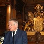 Bundesinnenminister a.D. Otto Schily hielt die Festrede der Veranstaltung