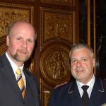 Hans-Peter Kröger, Präsident des Deutschen Feuerwehrverbandes, zählte ebenfalls zu den Gästen des Senatsempfanges