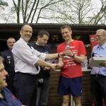 Der Pokal für den 3.ten Sieger FF Winterhude
