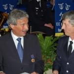 Erst vor wenigen Tagen wurde Udo Nagel von Landesbereichsführer Hermann Jonas mit der Feuerwehrverdienstmedaille ausgezeichnet