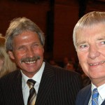 Udo Nagel als noch amtierender Innensenator mit dem Bundesinnenminister a.D. Otto Schily